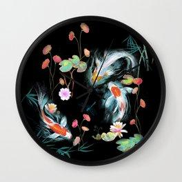 Japanese Water Garden Wall Clock