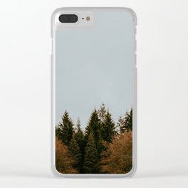 Wild Mountain Thyme Clear iPhone Case