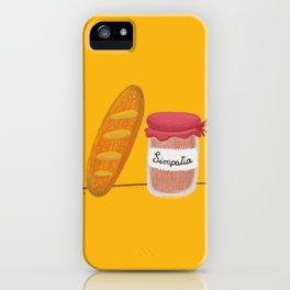 Pane & Simpatia iPhone Case
