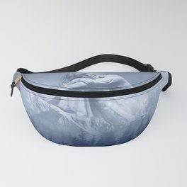 Wintry Woman of the Mountain Fanny Pack