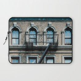Facades of NY - 01  Laptop Sleeve