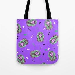Zombie King Tut Tote Bag