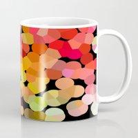 confetti Mugs featuring Confetti by Rosie Brown
