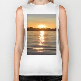 Sunset at Crystal Bay | Sunset Landscape | Ontario Canada Biker Tank