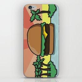 Burger Paradise iPhone Skin