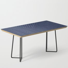 Lines / Navy Coffee Table