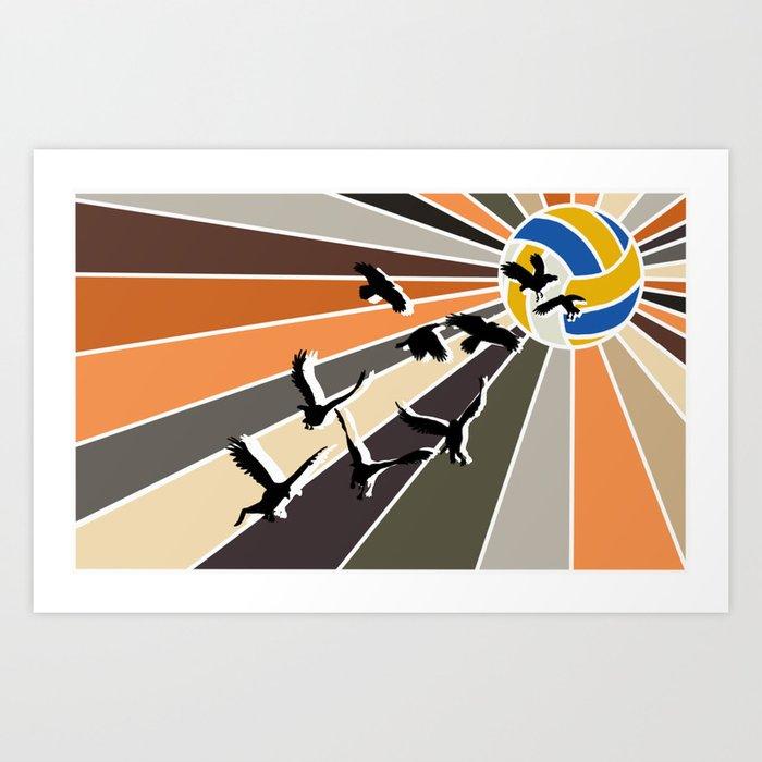 Haikyuu Inspired Digital Kunstdrucke
