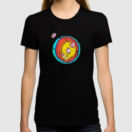 Cat World in the Center of it All T-shirt
