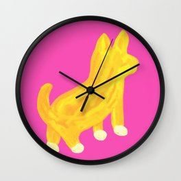 Shibainu dog Wall Clock