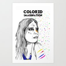 Colored Imagination #2 Art Print