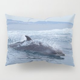 Dolphin: love for waves, love for life Pillow Sham