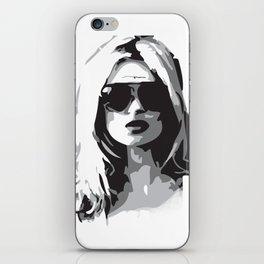 Kate Moss iPhone Skin