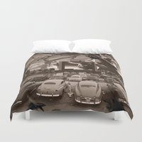 nightmare Duvet Covers featuring Nightmare by Kiki collagist