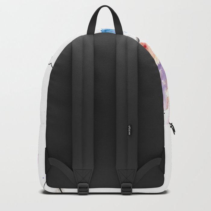 Smokin' Skull Backpack