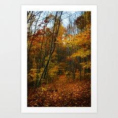Foliage. Art Print