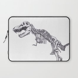 Tyrannosaurus rex skeleton Laptop Sleeve