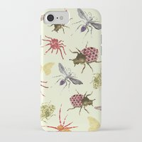 insects iPhone & iPod Cases featuring Insects by Christopher Bennett