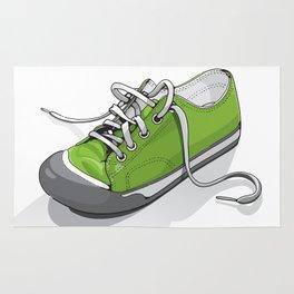 A Green Shoe Rug