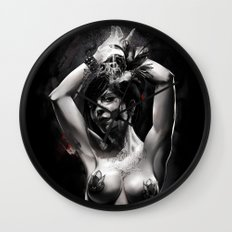 Deatheater Wall Clock