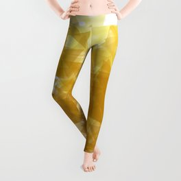 Gold abstract Leggings
