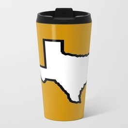 Texas Longhorns Metal Travel Mug