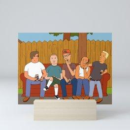 Saves the Hill Mini Art Print