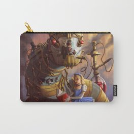 Sandra's Steampunk Alice in Wonderland Carry-All Pouch