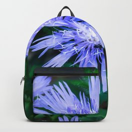 Popping Purple Petals Baby Backpack