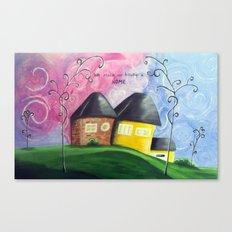 House A Home Canvas Print