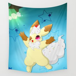 Willy ( Background ) Wall Tapestry