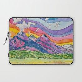 Vibrant Mountains Laptop Sleeve