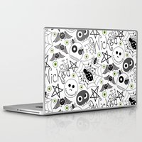wicked Laptop & iPad Skins featuring Wicked by Plum Studio