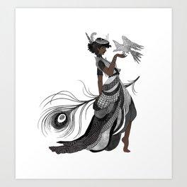 Roa Art Print