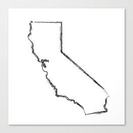 California State Canvas Print