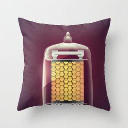 Vintage Tube Throw Pillow
