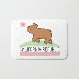 Kawaii California Republic Bath Mat