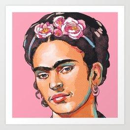 Frida Kahlo - Feminist Icon Art Print