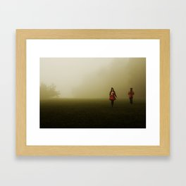 Welcome to the Circus. Framed Art Print