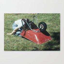 Wheelbarrow I Canvas Print