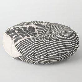 Block Design Art Floor Pillow