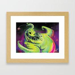 Oogie Boogie Framed Art Print
