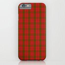 Scottish Clan MacNab Tartan Plaid iPhone Case