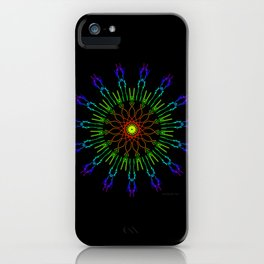 Raay Mandalla 1103 iPhone Case