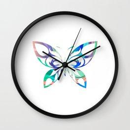 Butterfly 304 Wall Clock
