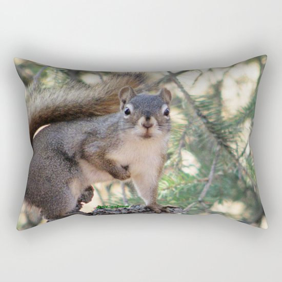 And Who Are You? Rectangular Pillow