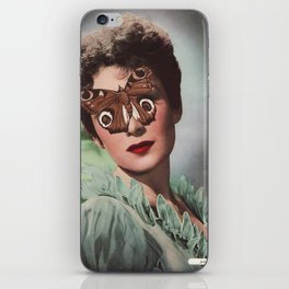 JEAN KENT.  (PIN-UPS). iPhone Skin