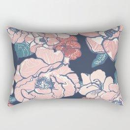 Brooklyn Botanic Garden Blush Rectangular Pillow