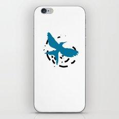 MockingJay Revolution - Blue iPhone & iPod Skin