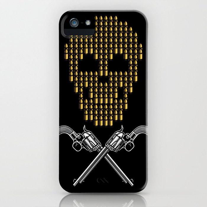 Skull Bullets iPhone Case