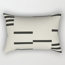 BLACK STRIPES Rectangular Pillow